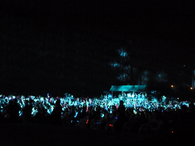 Glow sticks galore! Photo Credit Greg Haggard