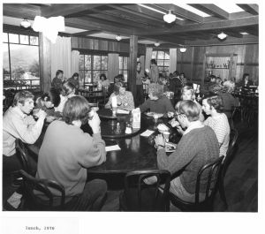 Dining Hall lunch 1970