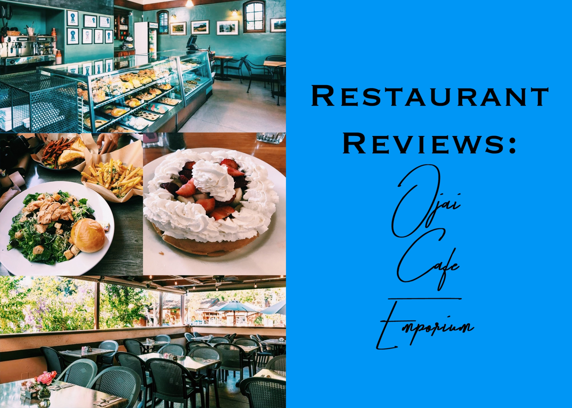 Restaurant Review Ojai Cafe Emporium The Thacher Notes